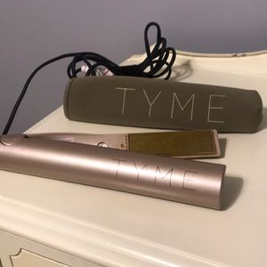 TYME hair straightener curling iron